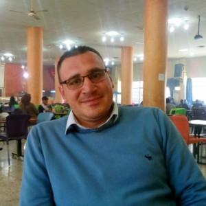 Adel an der Unversität in Damaskus. (Foto: Adel)
